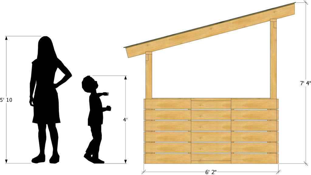 Free 6x6 DIY Playhouse Plan | Outpost One
