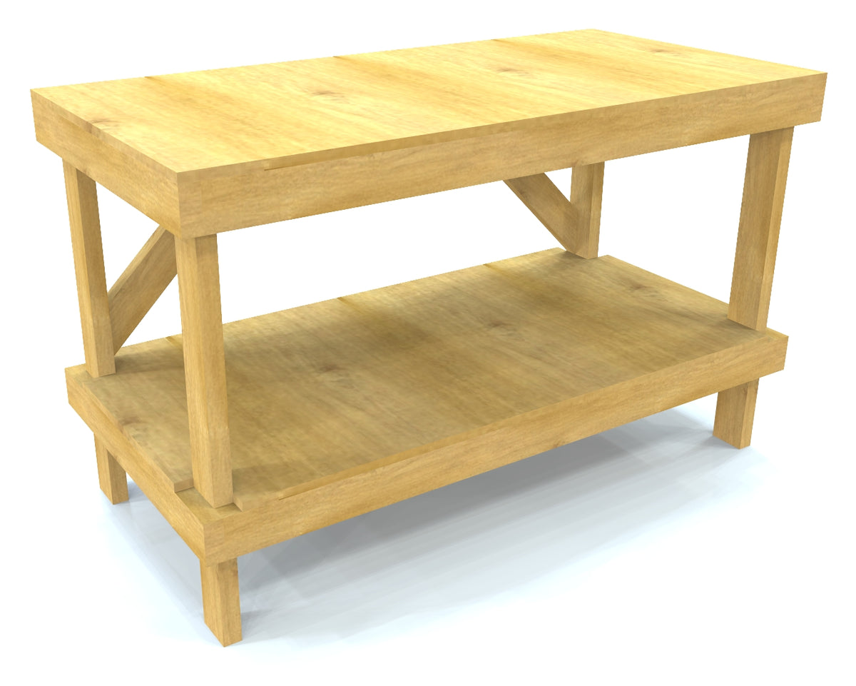 Free Work Bench Plan Diy 2x4 Amp Plywood Garage Bench Paul S Playhouses