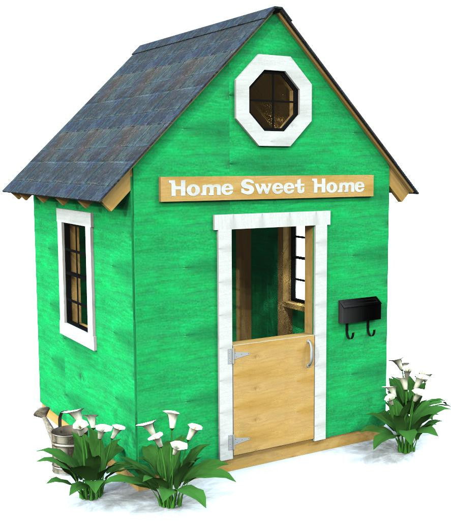 Free Building Plan For A Transitional Backyard Deck: How To Build An Outdoor Loft Playhouse