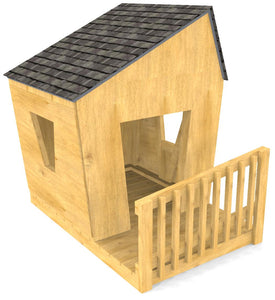 Free Toddler Playhouse Plan