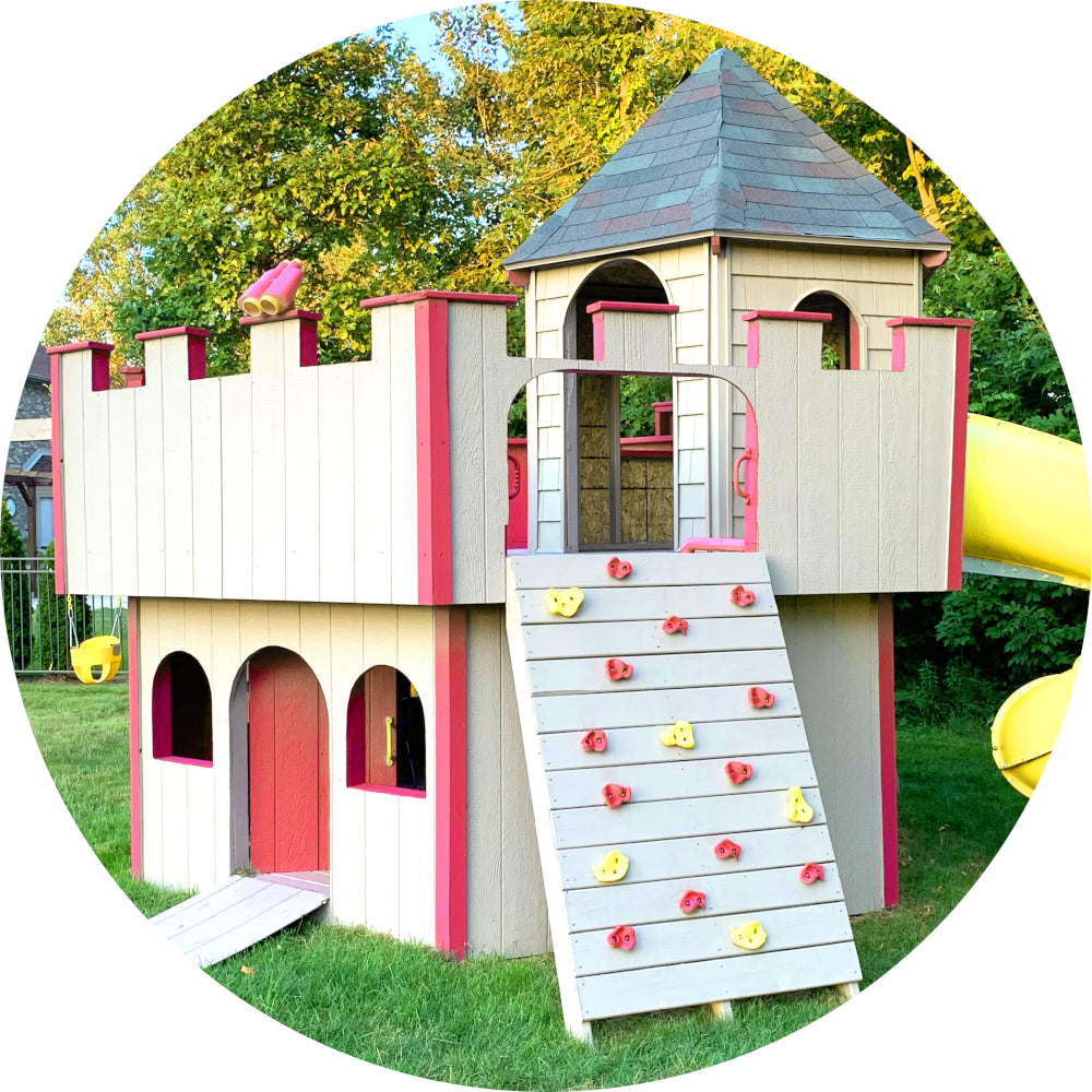 Castle Playhouse Plans For Kids Pdf Downloads Paul S