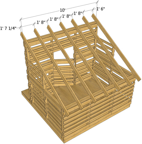 Free Pallet Playhouse Plan Diy Project Paul S Playhouses