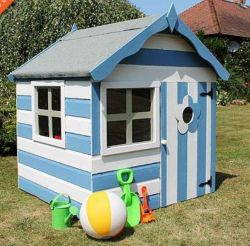 The complete guide to outdoor playhouse kits paul 39 s for Whimsical playhouse blueprints