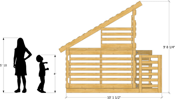 Free Pallet Playhouse Plan | DIY Project – Paul's Playhouses on