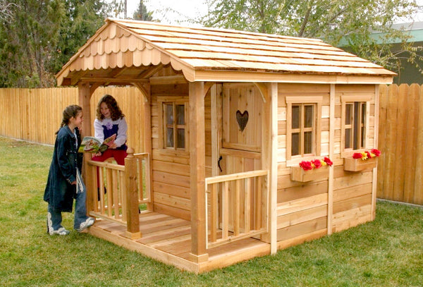 Strange The Complete Guide To Outdoor Playhouse Kits Pauls Playhouses Interior Design Ideas Clesiryabchikinfo