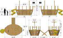Brawny Brigantine Pirateship Plan