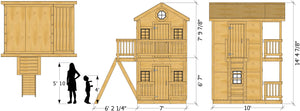 Dandy Duplex Playhouse Plan