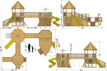 Edward Thatch Deluxe Pirateship Playground Plan