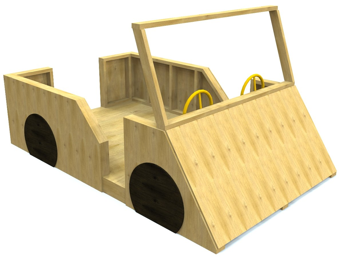 free, wooden DIY car plan for kids