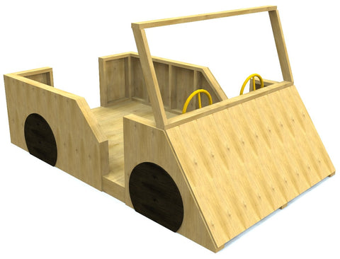 Paul's Car | Free 10x6 Woodworking Plan