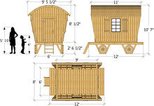Gypsy Wagon Play-set Plan