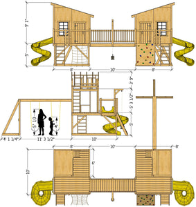 His & Hers Playhouse Plan