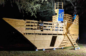 High Seas Pirate Ship Playhouse Plan