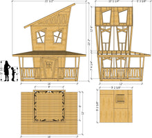 Kooky Koop Playhouse Plan