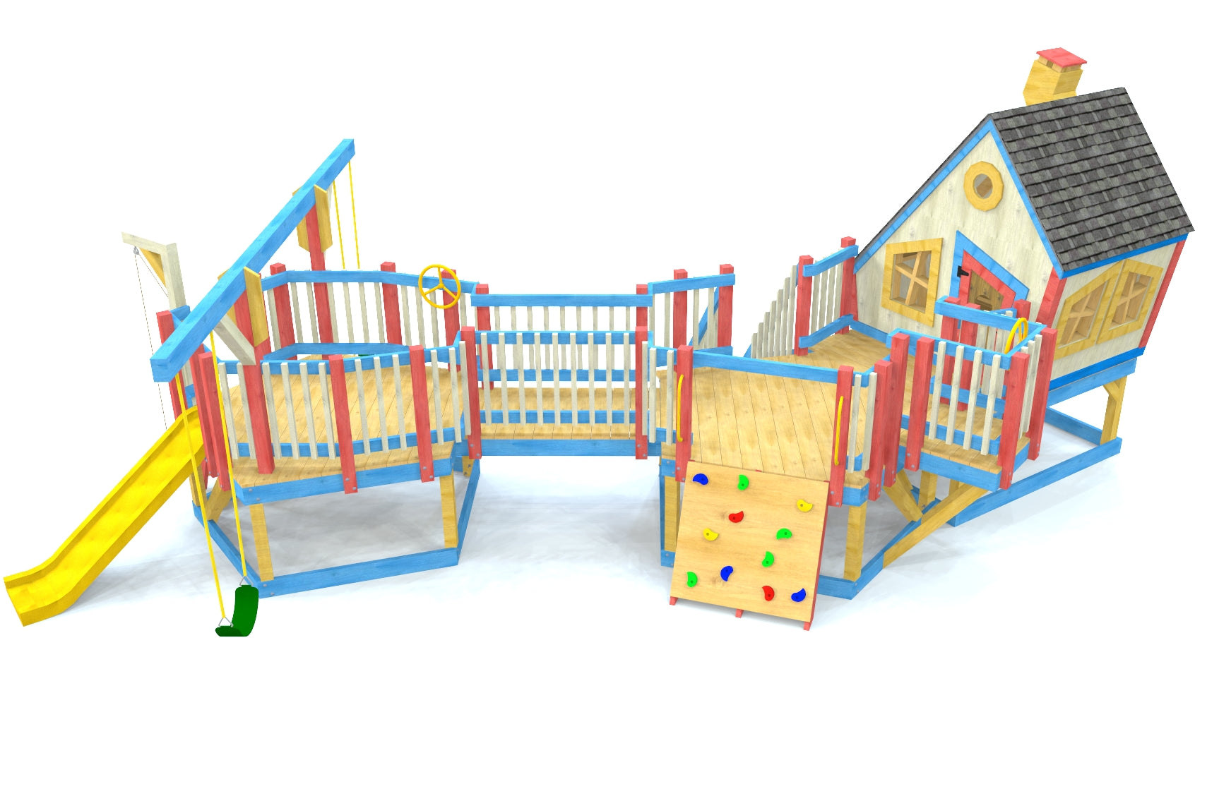 Looney Lodge Playground Plan