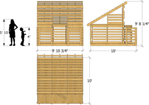 Paul's Pallet Playhouse