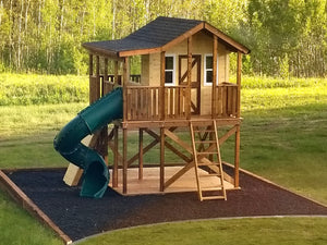 Randy's Ranch play-set plan with a slide
