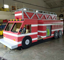 First Rescue Fire Truck Play-set Plan