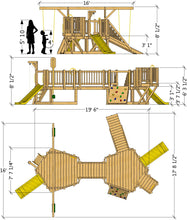 Toddler Playground Plan (2‑Sizes)