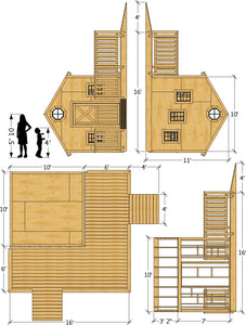 Wheelchair Accessible Playhouse Plan