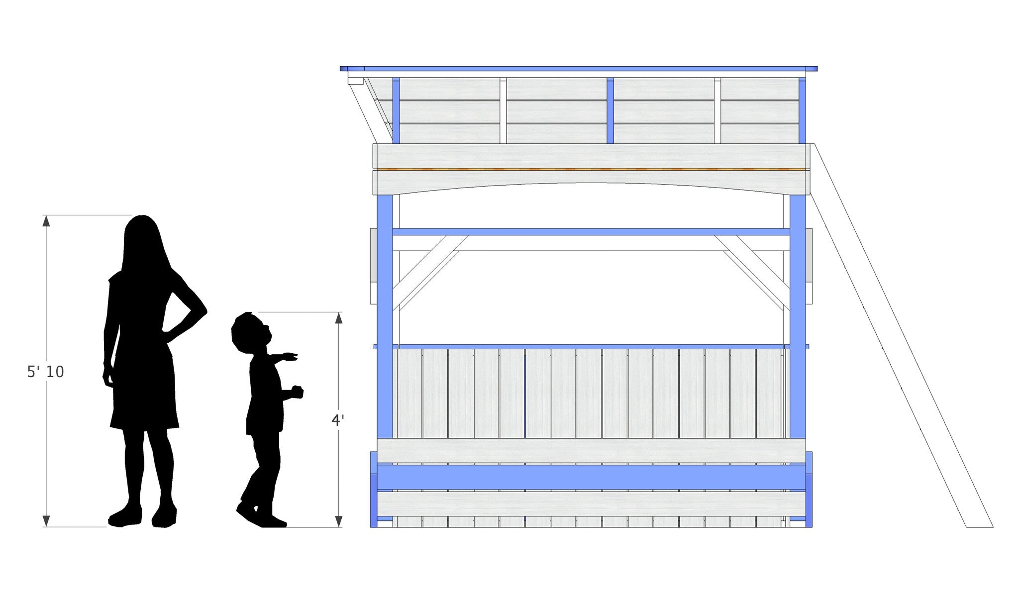 Paul's Bench & Bed | Free Wooden Plan