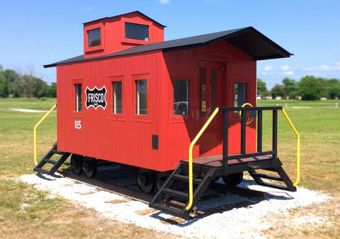 Caboose Playhouse Plan