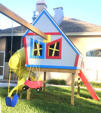 Looney Lodge Playhouse Plan (2‑Sizes Sold Separately)