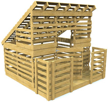 shed pallet playhouse plan