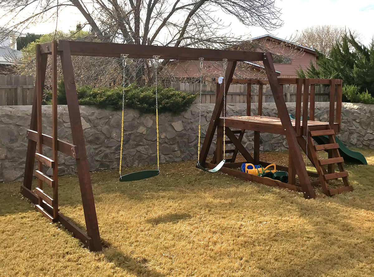Paul's Swingset | Free Wooden Swing-Set Plan – Paul's ...