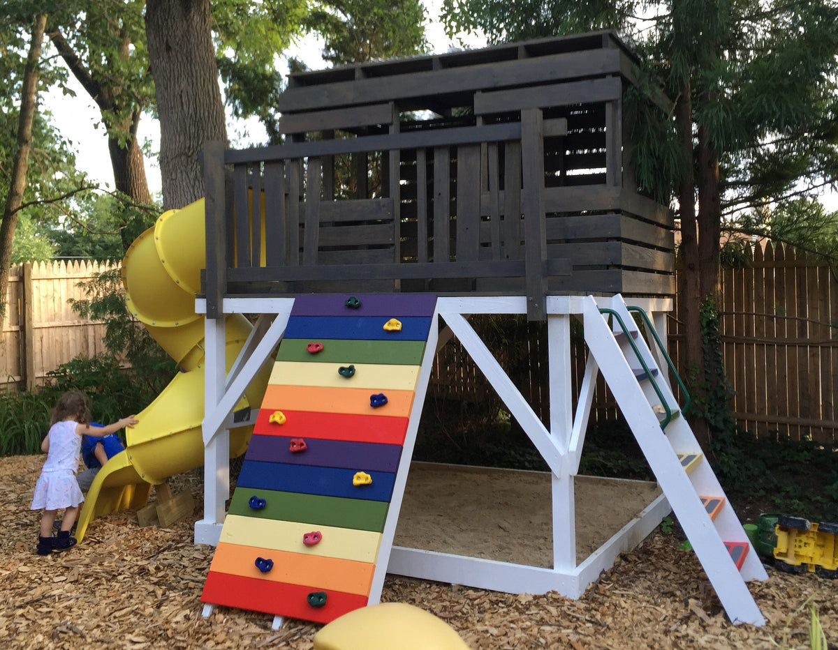 Paul S Clubhouse Plan 128ft 178 Wood Plan For Kids Paul S