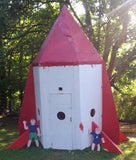 Paul's Rocketship | Free 7x7 Playhouse Plan