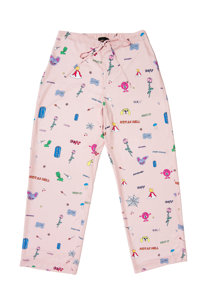 Art Baby Girl Pajama Bottom