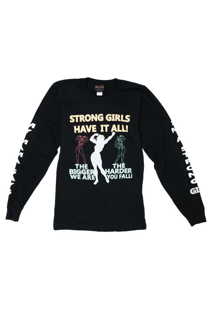 Strong Girls Long Sleeve