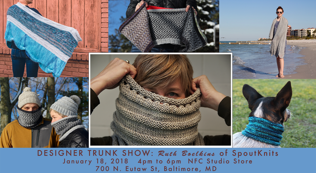 Ruth Boelkins Trunk Show Jan 18 2018 4-6pm
