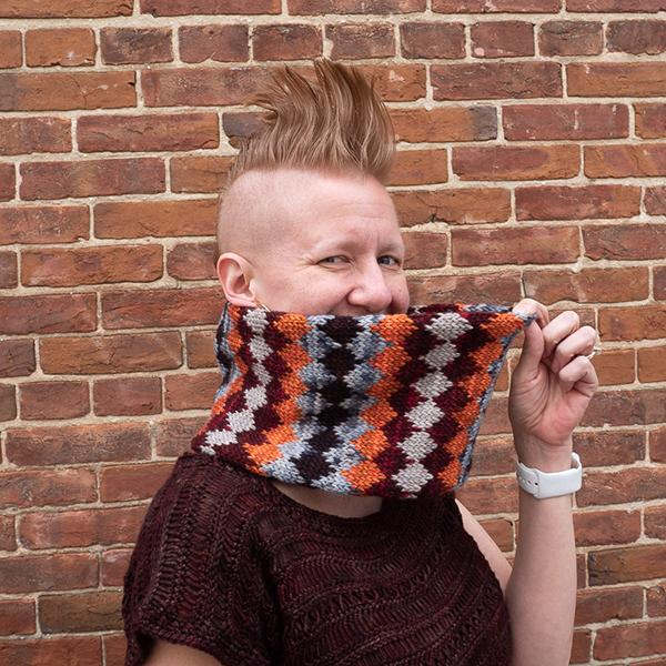 Orange & Brown Studio Worsted Mini Set