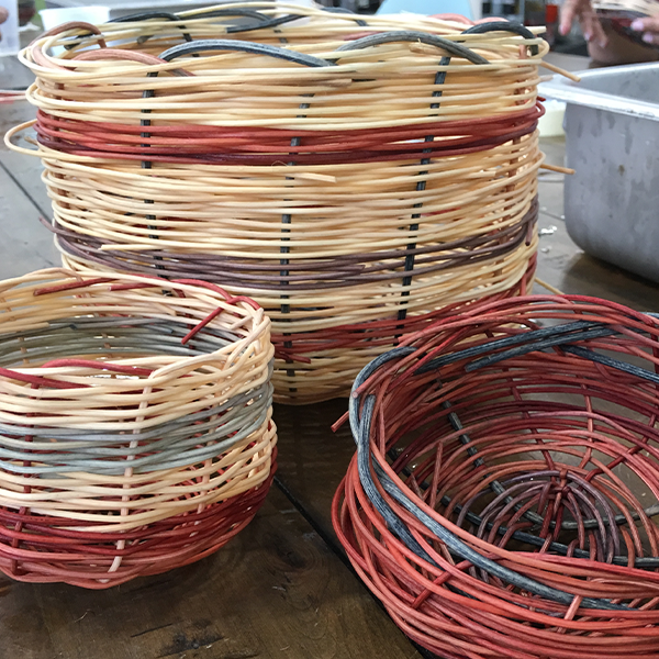 Beginner Basket Weaving
