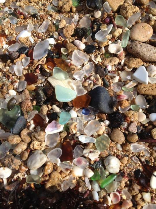 How to Tell What's Genuine Sea Glass And What's Fake