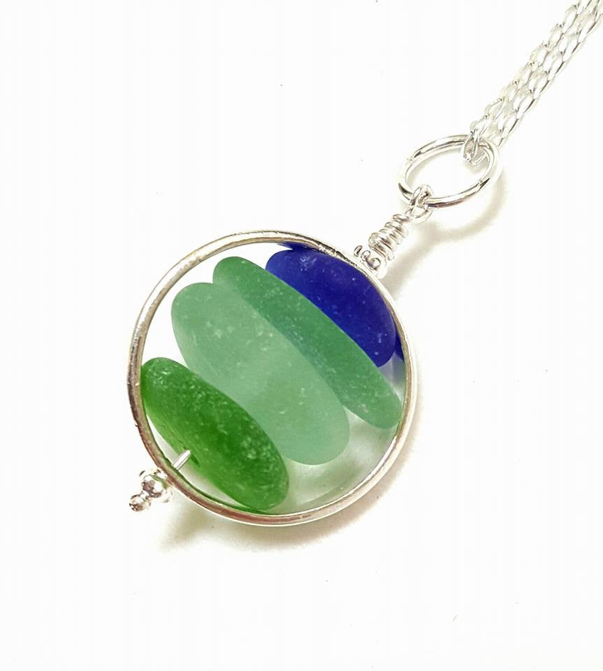 how to clean sea glass jewelry
