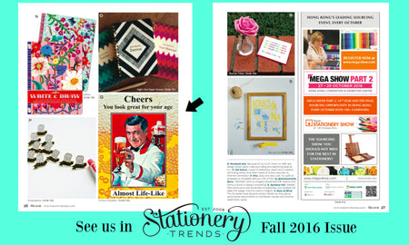 Design From A to Z - Stationery Trends Magazine Fall Edition