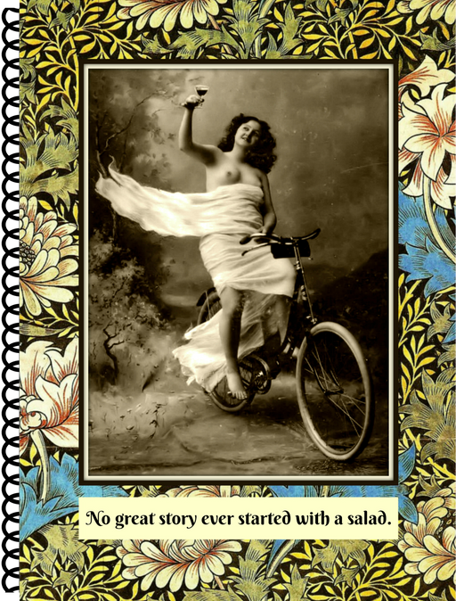 No Great Story Ever Started With A Salad