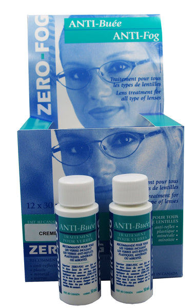 Zero-Fog Anti-Fog Cream - 30ml