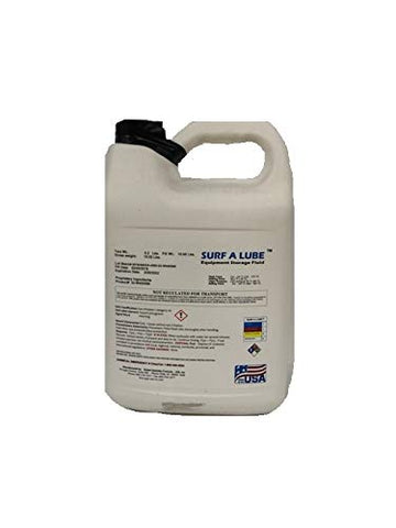Surfa Lube Spray Foam Equipment Storage Fluid - 1 Gallon Easy Pour JUG…