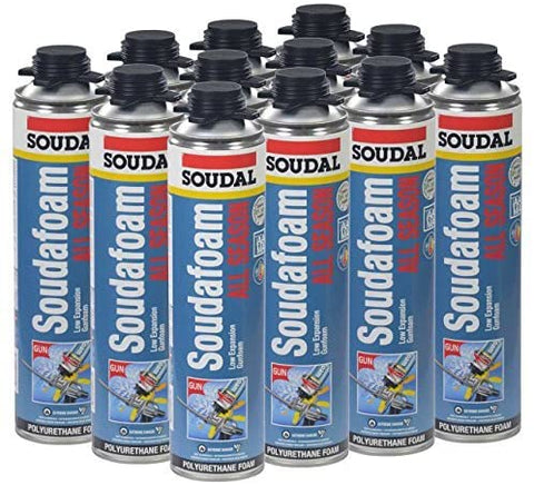 SOUDAFOAM PRO DOOR & WINDOW GUN FOAM 24 OZ (12/CS, 54 CS/PLT)
