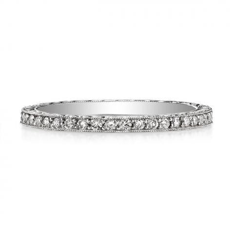 'Molly' Diamond Platinum Eternity Band