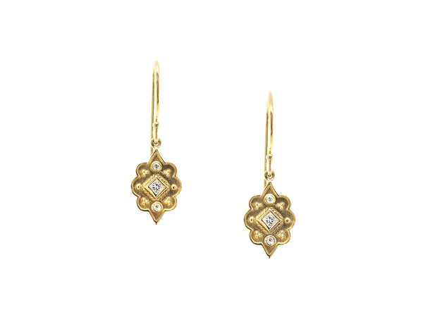 Heritage Marquise Diamond Drop Earrings