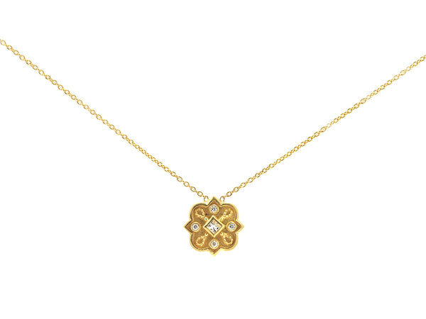 Heritage Star Diamond Pendant
