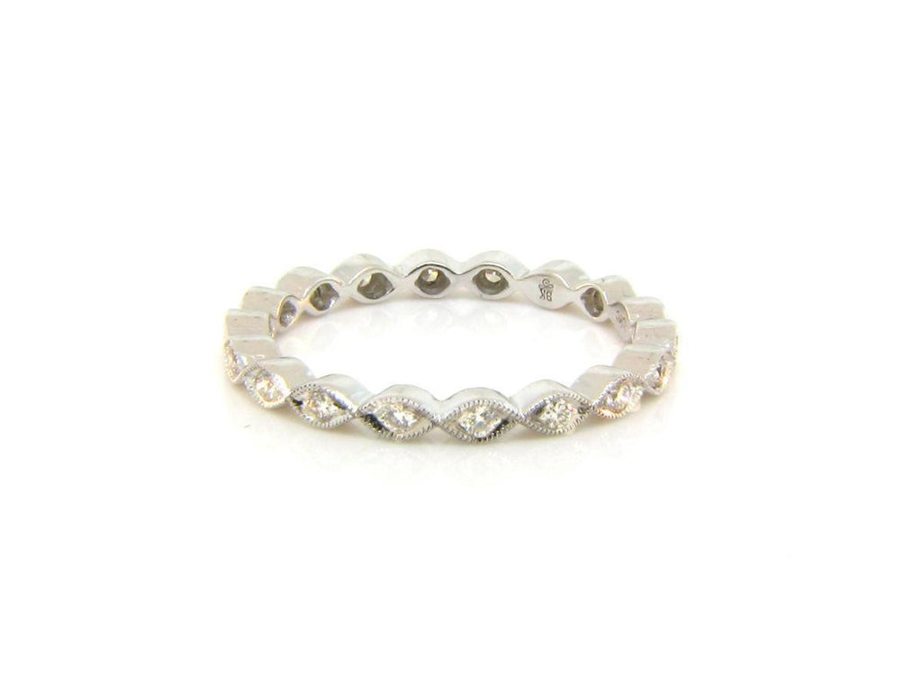 Marquise Eternity Band with Diamonds