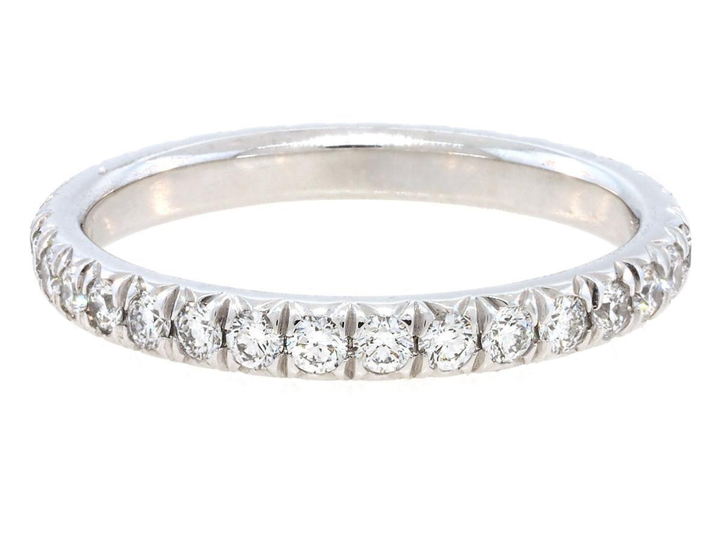 0.75ct French Pave Diamond Eternity Band