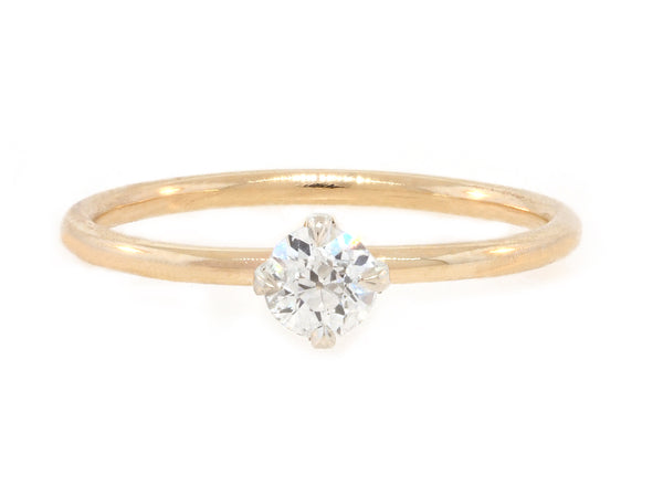 .25cts Diamond Baby Solitaire Ring