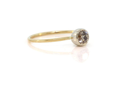0.27ct Bezel Set Diamond Ring